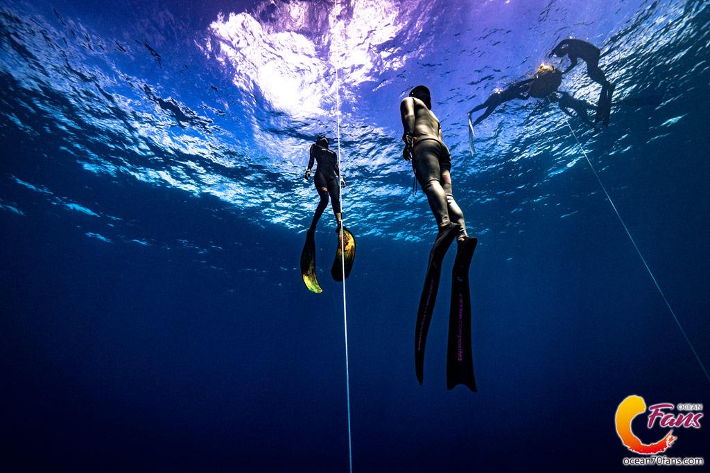 薄荷島自由潛水