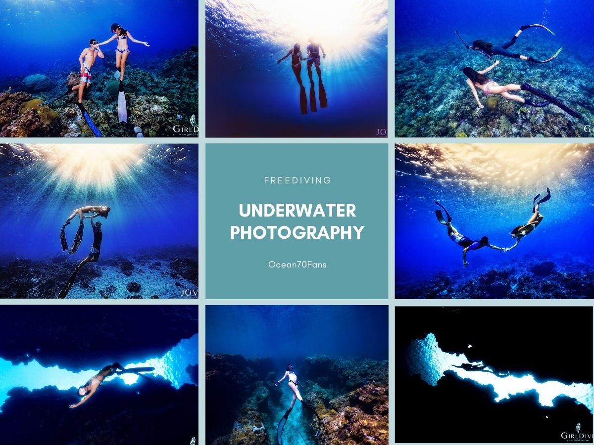 【水中人像攝影-分享會&課程教學】教妳如何成為:水中最美女主角